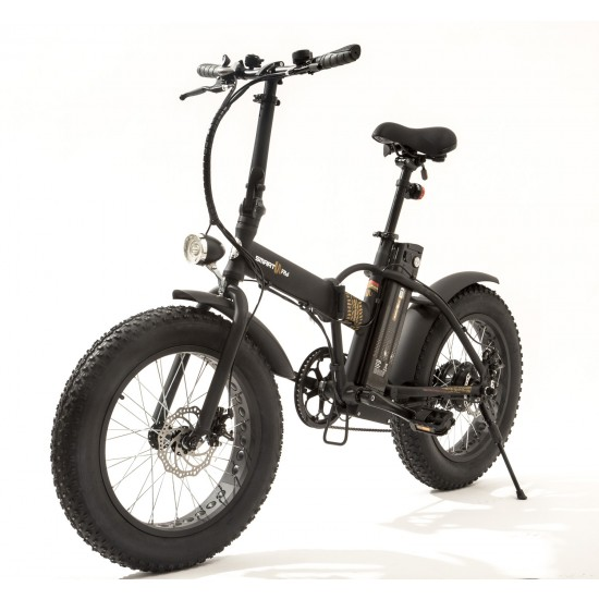 Monster Bike Pieghevole M1 Matt Black